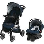 Graco FastAction Fold 2.0 Travel System GILT