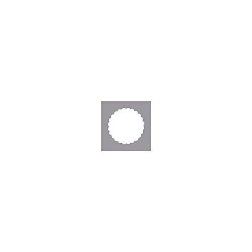 RAYHER - 8964200 - Motivstanzer: Rund mit Zierrand, ø 5,08 cm, (2 )