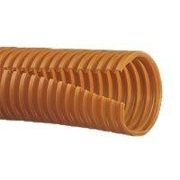 Corr. Loom Tubing Slit, 1in. (25.4mm) X 100ft. (30.5m), - Tubing Slit