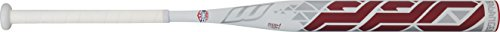 Worth 220 SB22BU USSSA Balanced Composite Slow Pitch Bat, White, 34'/26 oz