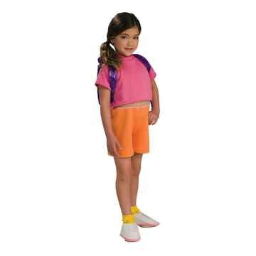Dora the Explorer Costume Toddler Girl - Toddler 2-4T - Dora Costumes For Toddler