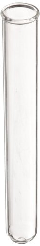 American Educational Borosilicate Glass Round Bottom Test Tube, 18mm OD x 150mm Length (Pack of 72)