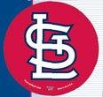 WinCraft MLB St. Louis Cardinals WCR68020091 Round Vinyl Decal, 3