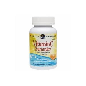 Nordic Naturals Vitamin C Gummies, Immune System Support for Adults and Kids ages 4+