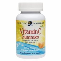 Nordic Naturals Vitamin C Gummies Chewable Tangerine Gummy Provides Daily Dose Of Essential Nutrient Vitamin C For Immune System Support and Antioxidant Protection For Kids And Adults