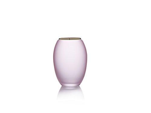 Mikasa Crystal Vase (Mikasa 5207476 Colbie Crystal Vase, 5.75-Inch, Pink)