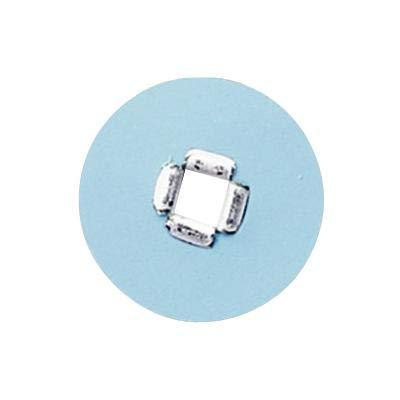 3M 1958SF Sof-Lex Square Eyelet Disc Refill, Superfine Grit, 5/8'' Diameter, Light Blue (Pack of 100)