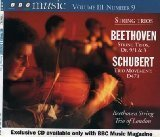 Beethoven String trios Op. 9 No. 1 & 3; Schubert String Trio D. 471, BBC Music Vol.III - 9 Audio Sunglasses