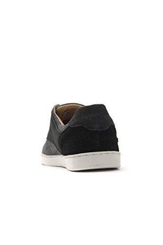 Pantofola dOro Herren Comacchio Canvas Uomo Low Sneaker, Schwarz (Black), 44 EU