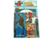 Marvel Spider Man Stationery - Marvel Amazing Spider-Man Stationery -11 pcs Value Set