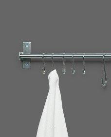 Ikea Kitchen/Towel Rail GRUNDTAL, 80cm, stainless steel b...