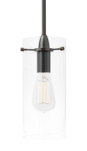 Large Glass Pendant Light Shade - 1
