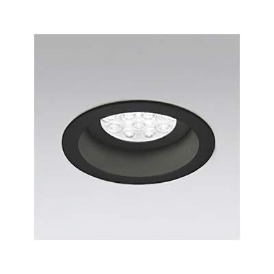 LEDダウンライト M形 埋込穴φ125 HID35W形 LED12灯 配光角:74°連続調光 本体色:ブラック 温白色形 3500K B07RYR1XHW