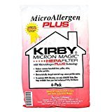 Kirby Micron Magic HEPA FILTER Micro Allergen Plus F Style Vacuum Bags 6 Pack ()