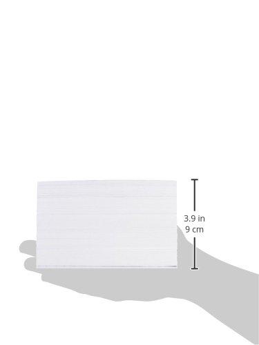 AmazonBasics 4 x 6-Inch Ruled White Index Cards, 500-Count Photo #2