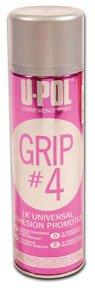 U-Pol Products 0799 Grip#4 Universal Adhesion Promoter 450 ml Aerosol, 13.5 Fluid_Ounces
