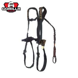 Gorilla Gear G-Tac Air Safety Harness with Flex Fit Mens Mossy Oak Break-up Country, One Size