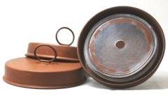 Metal W/ Ring Premium Rust Lid Per Each