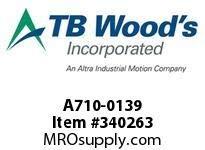 TBWOODS A710-0139 CPLG-A D=53.38 13026473B04 COM