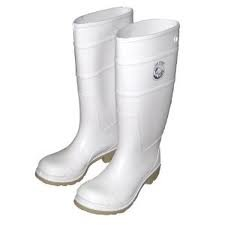 Amazon.com | Joy Fish Commercial Grade Fishing/Rain Boots (White ...