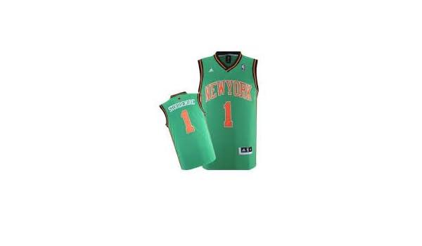 New York Knicks de la NBA de San Patricio Día Jersey - Stoudemire # 1 - Mens Extra Grande XL NWT: Amazon.es: Deportes y aire libre