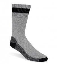 Wigwam Diabetic Thermal Socks,Gray/Black,XL