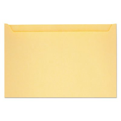 Paper File Jackets, 5'' x 8 1/8'', 28 lb Manila, Buff, 500/Box, Sold as 1 Box, 500 Each per Box
