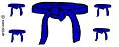 hochwertige Premium Keramik Tasse Gürtel blau