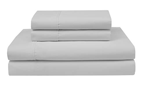 - Elite Home Products Inc Wrinkle Free 420 Thread Count Cotton Sheet Set White 4 Piece California King