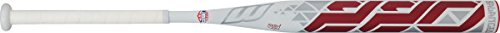 Worth 220 SB22BU USSSA Balanced Composite Slow Pitch Bat, White, 34'/26 oz