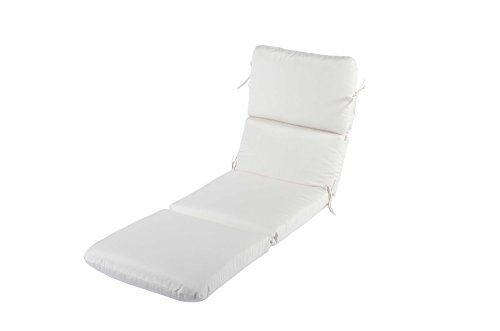 Phat Tommy Sunbrella Outdoor Chaise Lounge Cushion – Eco-Friendly Patio Furniture Replacement Cover -Clearance (Chaise Lounge Replacement Cushions)