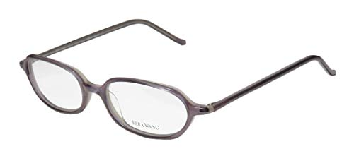 Vera Wang V20 For Ladies/Young Women/Girls Designer Full-Rim Shape Optical Classic Made In Japan Eyeglasses/Glasses (49-16-136, Lavender) (Brillen Made In Japan)