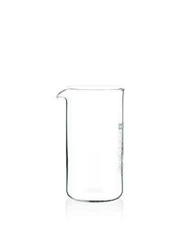 Bodum Spare Glass Carafe for French Press Coffee Maker, 0.35-Liter, 12-Ounce Bodum 3 Cup Coffee
