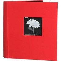 Pioneer Bi-Directional Cloth Frame Photo Album, Random Designer Series Bright Cloth Covers, Holds 200 5x7 Photos, 2 Per Page