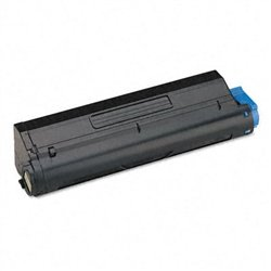 Ink Now Premium Compatible Black Toner for Oki-Okidata B420, B420DN, MB480, MB480 MFP printers, OEM Part Number 43979215 Page Yield 12000