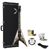 GoDpsMusic VMNT-AOD Dean Dave Mustaine VMNT Angel of Deth with Accessories and Hardcase