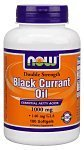 Now Foods, Black Currant Oil, 1000mg x 100Sgels, Dbl Strength by Now Foods
