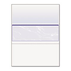 ** DocuGard Standard Security Marble Business Middle Check, 24 lb, Letter, 500/RM ** by 4COU