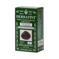 Herbatint 6C Permanent Herbal Dark Ash Blonde Haircolor Gel Kit - 3 per case.