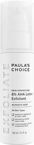 Paula's Choice Skin Perfecting 8% AHA Lotion Peeling - Anti Aging Fruchtsäure Exfoliator mit Glycolsäure - Minimiert Falten, Pigmentflecken & Pickelmale - Normale bis Trockene Haut - 100 ml