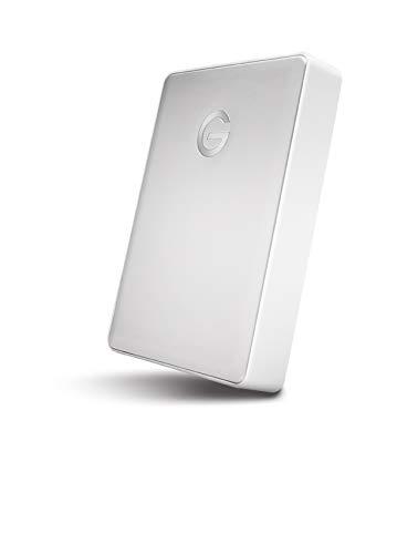 G-Technology 4TB G-DRIVE Mobile USB-C (USB 3.1 Gen 1) Portable External Hard Drive, Silver- 0G10348 by G-Technology (Image #4)