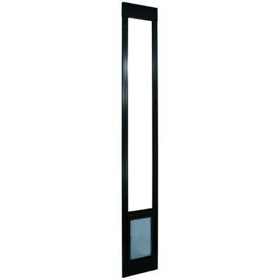 4-Way Cat Flap Pet Patio Door - Tall (Bronze) (93 3/4
