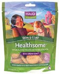 """Live-A-Little Healthsome Skin and Coat Treats With Dream Coat 6 Oz. by Halo, Purely For Pets"", My Pet Supplies"