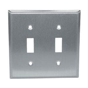 Encore (Chg) - R70-0722-Q Encore (Chg) - R70-0722-Q - S/S Double Toggle Plate Saniguard Coated by Component Hardware Group (Image #1)