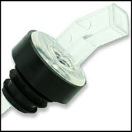 WIDGETCO Clear Plastic Pour Spouts w/ Bug Screen & Grip Collar by WIDGETCO