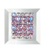 Geometrix by Schonbek MTW0606AZU Matrix 1 Light Wall Sconce with Azurite Swarovski Elements crystal