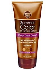 Banana Boat Self-Tanning Lotion, Deep Dark Summer Color for