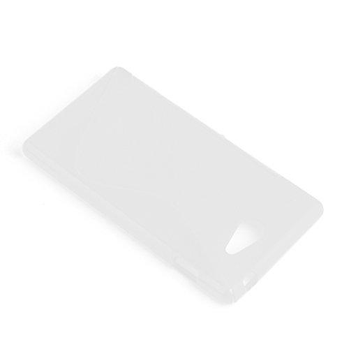 Amazon.com: Cadorabo – Carcasa de silicona s-line para sony ...