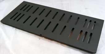 grille de foyer en fonte pour insert. Black Bedroom Furniture Sets. Home Design Ideas