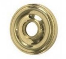 Trad Rose Oval Knob Finish: Satin Nickel from BRASS Accents